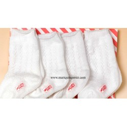 Set Calcetines Color Blanco MP