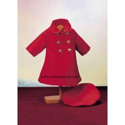Abrigo Rojo con Boina MP
