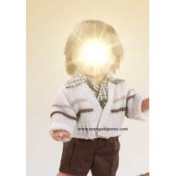 Mini Conjunto Camisa Cuadros