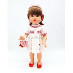 Mariquita Pérez con vestido...