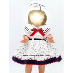 Conjunto Vestido Marinera