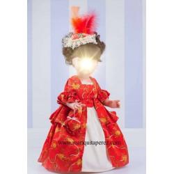 Conjunto Versalles Rojo