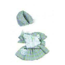 Mini Vestido Vichy Cuadros...