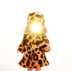 Mini Conjunto Abrigo Leopardo